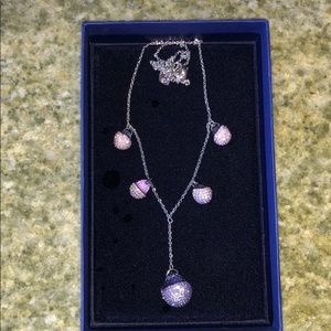 Authentic Swarovski Tanzanite necklace
